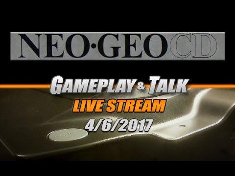 Gameplay and Talk Live Stream - SNK NEO-GEO CD (variety stream)