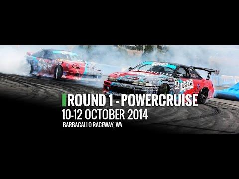 2014/15 Just Car Insurance Australian Drifting GP-  Rd 1 - Barbagallo Raceway