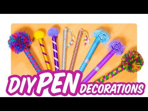 DIY Pen Decorations  | Back to School Supplies
