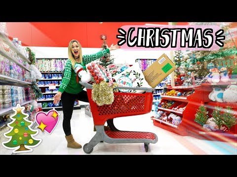 Christmas Shopping at Target!!! AlishaMarieVlogs