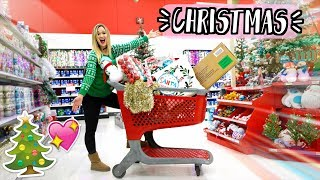 Christmas Shopping at Target!!! AlishaMarieVlogs