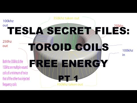 Tesla: Secret Free Energy Generator from Toroid Coils PT 1 –Johnson Morin TPU MEG bendini Keshe
