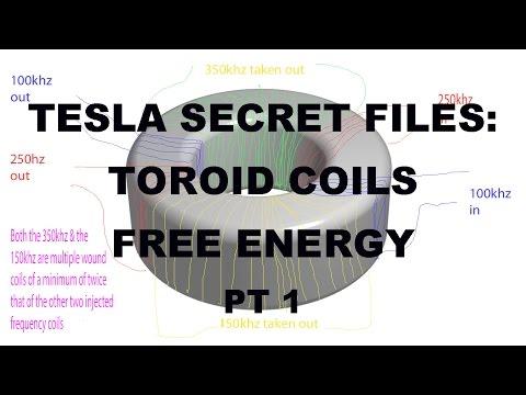 Tesla: Secret Free Energy Generator from Toroid Coils PT 1 –Johnson Morin TPU MEG bendini Keshe