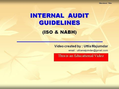 Internal Audit Guidelines