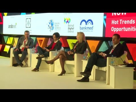 Panel: Hot Trends and Opportunities in Digital - ArabNet Beirut 2016