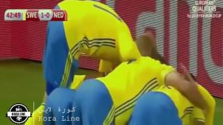Sweden vs Netherlands 1-1 | All Goals & Highlights | 2018 FIFA World Cup Qualifiers | 06/09/2016