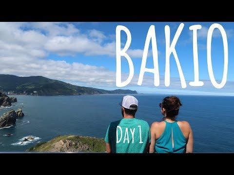 Road trip to Bakio!   (Vlog 280) Bakio day 1