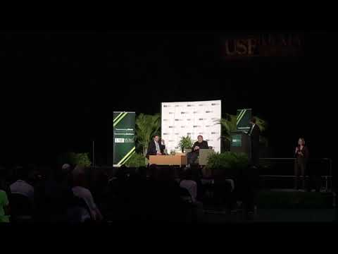 Steve Wozniak, Apple Cofounder - About Apple's culture, USF, Tampa, FL, 02-20-2018