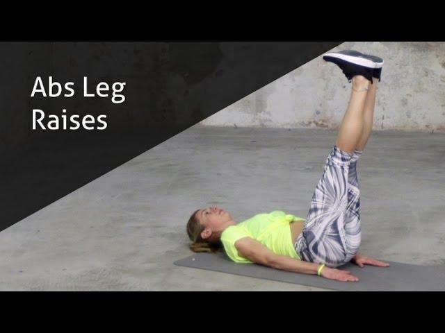Abs Leg Raises - hoe voer ik deze oefening goed uit?
