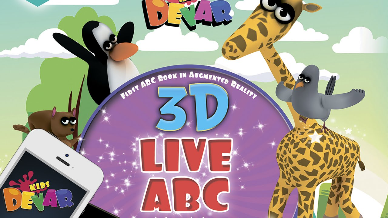 AR Live ABC Book