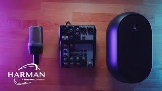 최상의 목소리를 위한 1인 미디어 시대의 오디오 시스템  | with. HARMAN