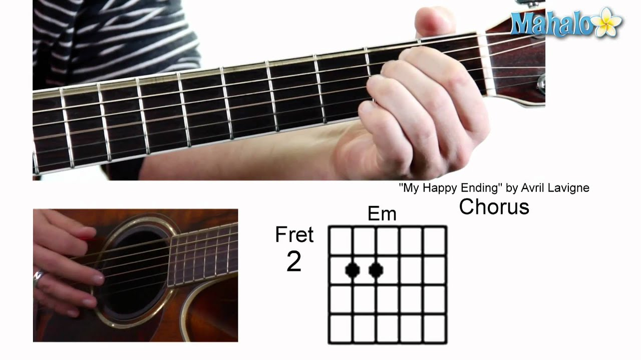 How to play my happy ending by avril lavigne on guitar youtube how to play my happy ending by avril lavigne on guitar hexwebz Images
