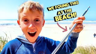 Strange Clue Found At The Beach!