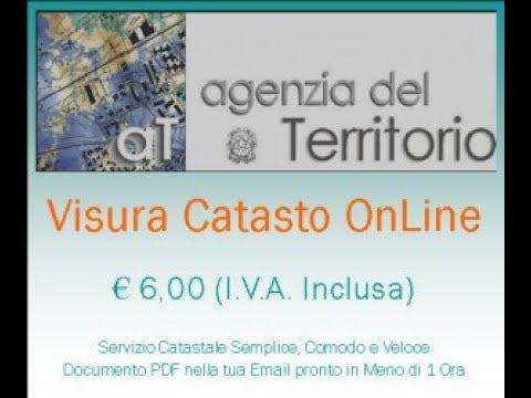 Richiesta visura catastale visura catasto online visura for Visura catastale per soggetto gratis