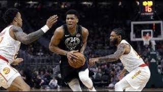 Milwaukee Bucks vs Atlanta Hawks NBA Full Highlights (5th January 2019)