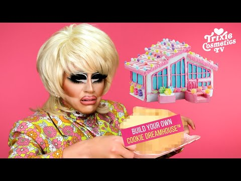 """Trixie builds her own """"Barbie Cookie Dreamhouse"""" from Mattel - Trixie Mattel"""