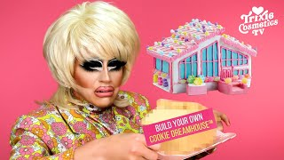 "Trixie builds her own ""Barbie Cookie Dreamhouse"" from Mattel"