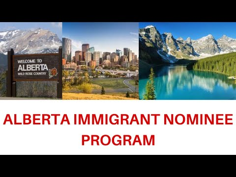Fursadaha Kajira Canada (ALBERTA IMMIGRANT NOMINEE PROGRAM)