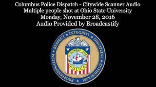 Columbus Police Scanner Audio Mass injury incident at Ohio State University