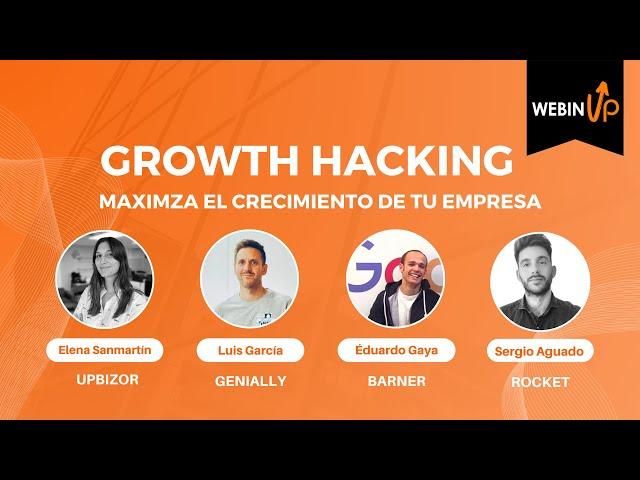 Maximiza el crecimiento de tu empresa - #webinUP 33