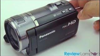 Panasonic HC-V700 Full HD Wide Angle Camcorder Review and Video Test