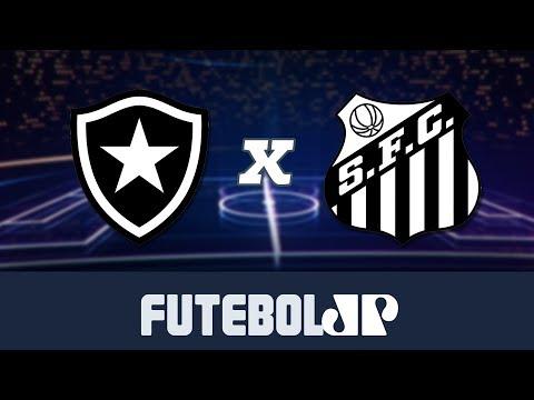 Botafogo x Santos   campeonato Brasileiro