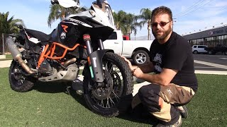 Tested! Michelin Anakee Wild 50/50 Adventure Motorcycle Tires