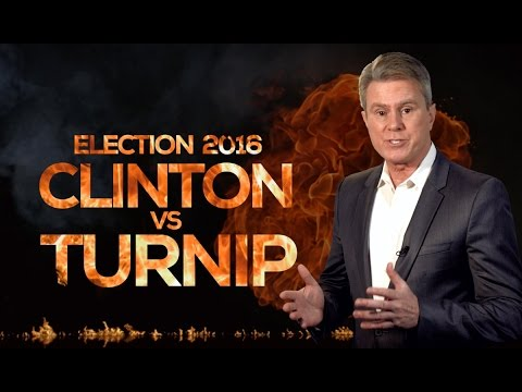 ELECTION 2016: CLINTON VS TURNIP