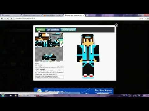แก้ไข skins Minecraft 1.8 - 1.9 เปลี่ยน steve เป็นคนใหม่