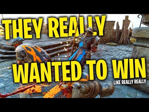 They Really Wanted to Win - For Honor Season 5