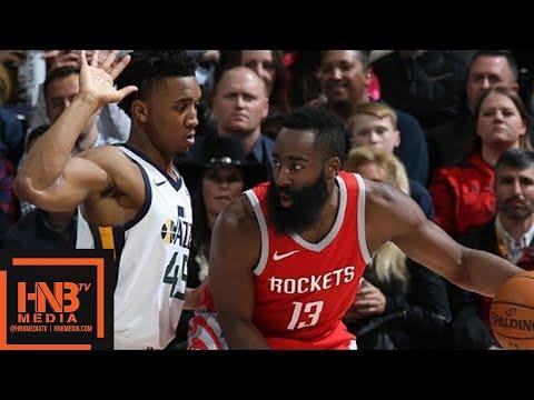 Houston Rockets vs Utah Jazz Full Game Highlights / Feb 26 / 2017-18 NBA Season
