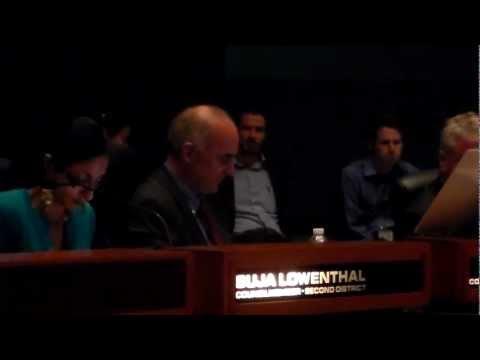 DeLong, City Council General Meeting, Long Beach, 10/9/12 (Part 2)