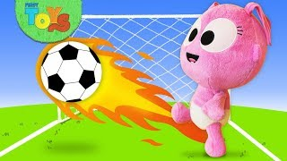 Gaga is Playing With The Soccer Ball & Visits The Doctor | Pretend Play With Dolls & Toys for Kids