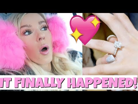Sooooo....THIS HAPPENED! | Engagement & Puppy?! thumbnail