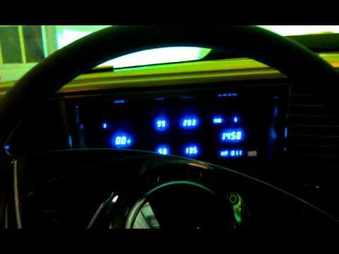 Kwc Digital Dash In Monte Carlo Ss Youtube