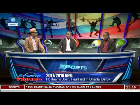 NPFL: FC Ifeanyi Ubah, Heartland In Oriental Derby |Sports Tonight|
