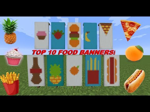 Print out minecraft pizza top 10 minecraft food banners pizza pineapple cupcake more publicscrutiny Choice Image