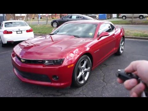 2014 Chevrolet Camaro LT RS Walkaround, Start up, Tour and Overview