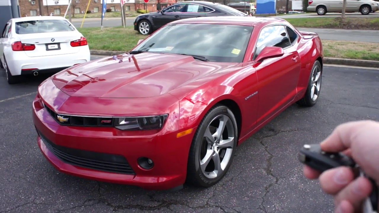 Sold 2014 Chevrolet Camaro Lt Rs Walkaround Start Up Tour And Overview Youtube