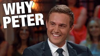 Peter is The Bachelor! And Why They Chose Him (plus a conspiracy)