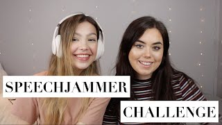 SpeechJammer Challenge! | Awful singing, Tongue Twisters & Friends Quotes