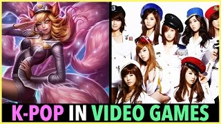 K-POP IN VIDEO GAMES!