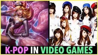 K-POP IN VIDEO GAMES!