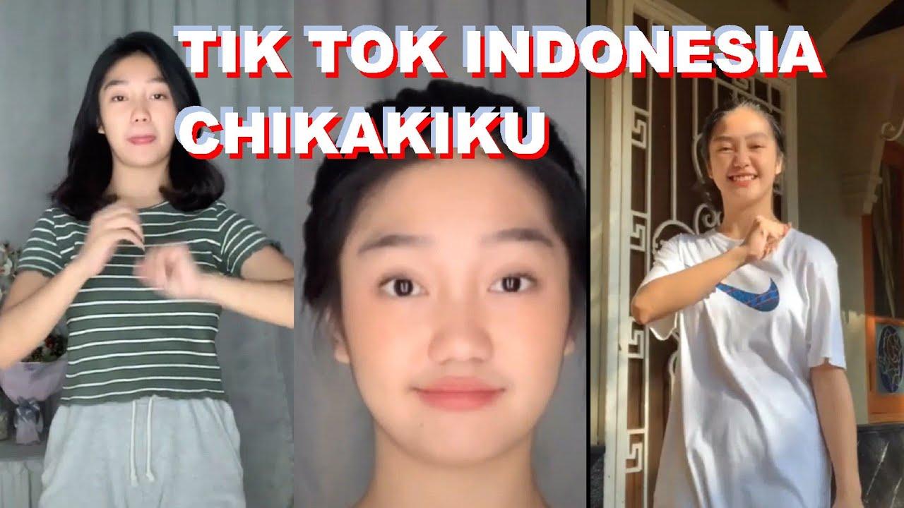 Tiktok Indonesia Chikakiku Viral 2020 Tik Tok Chandrika Chika Youtube