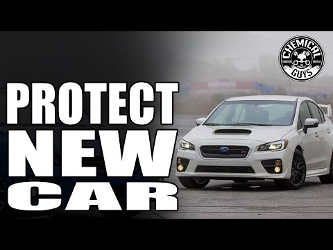 How To Coat And Protect A Brand New Car - Chemical Guys Carbon Flex C9 Vehicle Coating