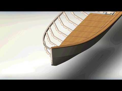 Видеозапись деревянная лодка своими руками