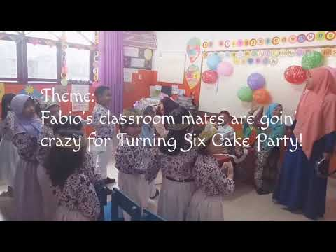 Kygo Feat John Legend - Happy Birthday (Lyric Video) [Fabio's Turning Six Cake Classroom Party]