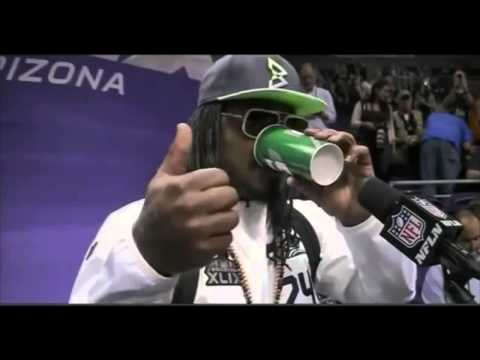 Marshawn Lynch Funny Interviews