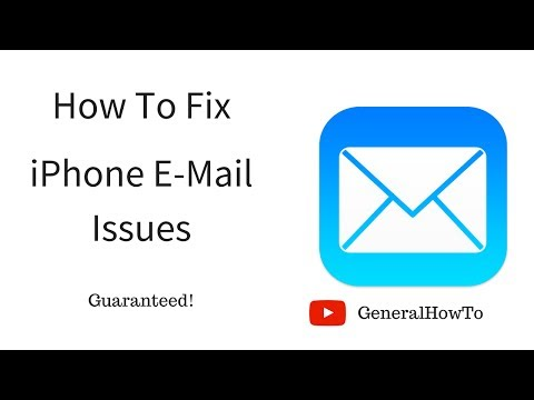 How To Fix iPhone E-Mail Issues