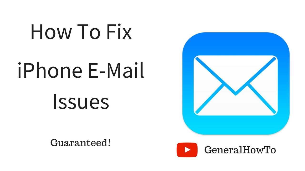 how do i fix my aol email on my iphone